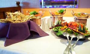 Saffron Restaurant & Banquet: $22 for $40 Worth of Indian Food and Drinks During Dinner at Saffron