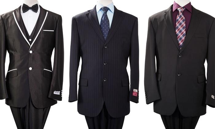 Braveman Men's 2-Piece Suits: Braveman Men's 2-Piece Suits. Multiple Styles Available.