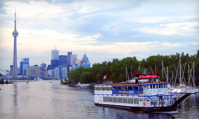 Jubilee Queen Cruise Lines - Downtown Toronto: Lunch or Dinner Cruise, or Private Charter for Up to 120 Guests from Jubilee Queen Cruise Lines (Up to 51% Off)
