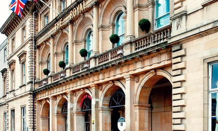 Hull: 1 Night for Two with Breakfast and Option for Dinner and Wine at Royal Hotel Hull