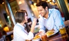 Restaurant Mediterranien - Leipzig: Mediterranes 4-Gänge-Menü für 2 oder 4 Personen im Restaurant Mediterranien (bis zu 42% sparen*)