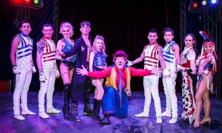 Planet Circus, 30 August - 3 September in Bilton
