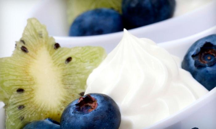 Chill Yogurt - Southeast: $12 for Six 11 Oz. Frozen Yogurts at Chill Yogurt in Aurora (Up to $25.74 Value)
