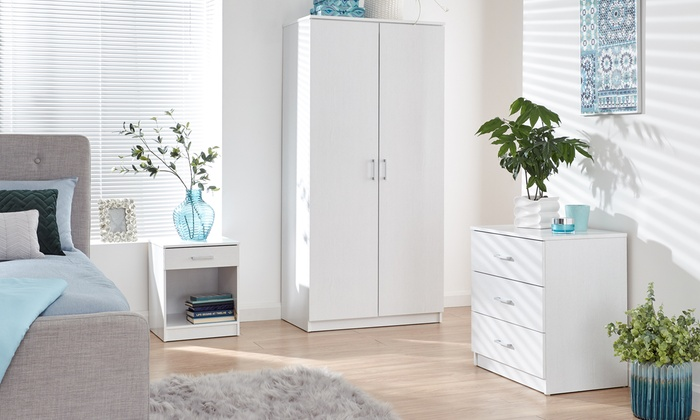 Three- or Four-Piece Copenhagen Bedroom Set from £159.99 (33% OFF)