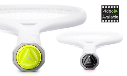 One or Two Smart Coollang Tennis Training Aids with Smartphone App