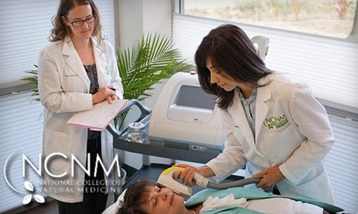 NCNM Clinic - Corbet - Terwilliger - Lair Hill: $250 for Three Skin-Rejuvenation Treatments at the NCNM Clinic
