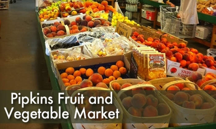 Pipkin's Fruit & Vegetable Market - Montgomery: $10 for $20 Worth of Locally Grown Produce and More at Pipkin's Fruit & Vegetable Market