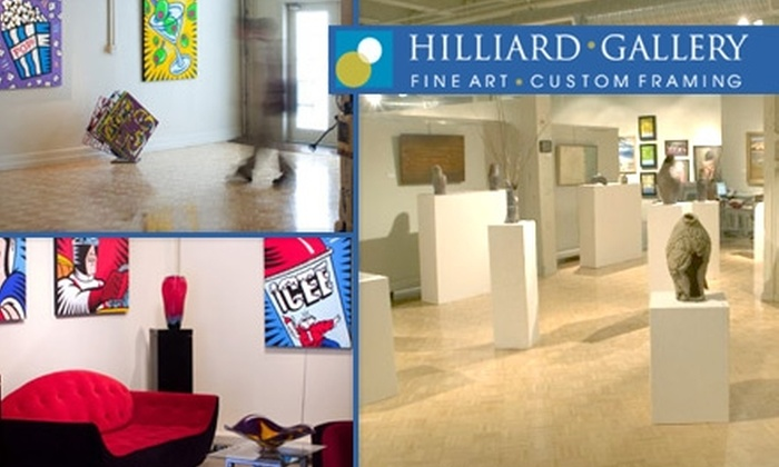 Hilliard Gallery - Kansas City: $40 for $100 Worth of Custom Framing, Fine Art, and Sculptures at Hilliard Gallery