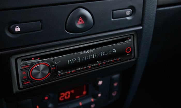 Elite Auto Collision Repair Center - La Mesa: $99 for a Kenwood In-Dash CD- and MP3-Player Plus Installation at Elite Auto Collision in La Mesa ($260 Value)
