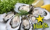 Hale Street Tavern, Sushi & Oyster Bar - Beverly: $25 for $50 Worth of Seafood at Hale Street Tavern, Sushi & Oyster Bar in Beverly