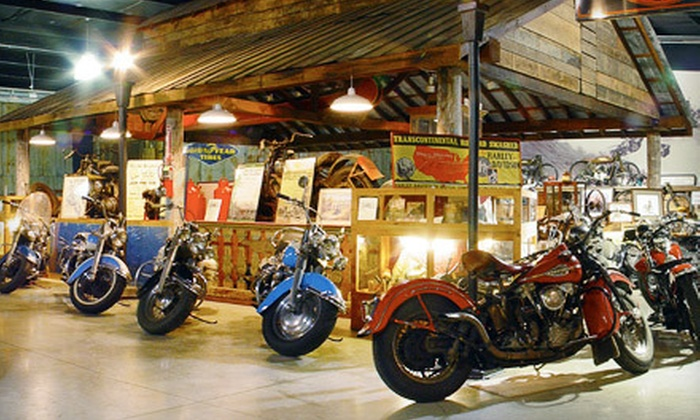 Wheels Through Time Museum - Maggie Valley: Visit for Two or Four to Wheels Through Time Museum (Up to Half Off)