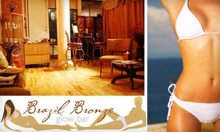 Brazil Bronze Glow Bar - SoHo: $29 for One Full-Body Spray Tan at Brazil Bronze Glow Bar ($60 Value)