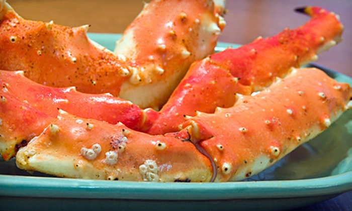 Garlic Crabhouse - Marydia: Seafood and Caribbean Fare for Dinner or Lunch at Garlic Crabhouse in Kissimmee (Half Off)