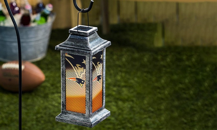 Team Sports America NFL Solar Garden Lantern ...