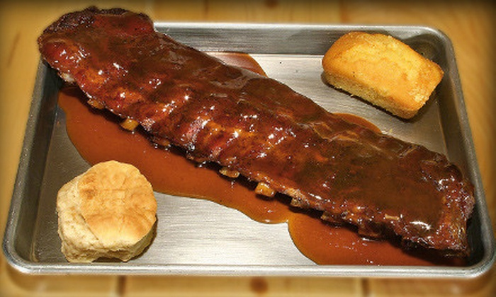 Porkys B.B.Q. Ribs - Crest Hill: Barbecue Dinner for Two, Four, or Six at Porky's B.B.Q. Ribs in Crest Hill (Up to 57% Off)