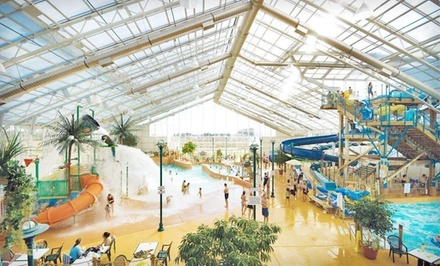 One-Night Stay for Up to Five in a Deluxe Spa Room or Junior Suite, Valid SundayThursday Through June 16 - Americana Waterpark Resort and Spa in Niagara Falls