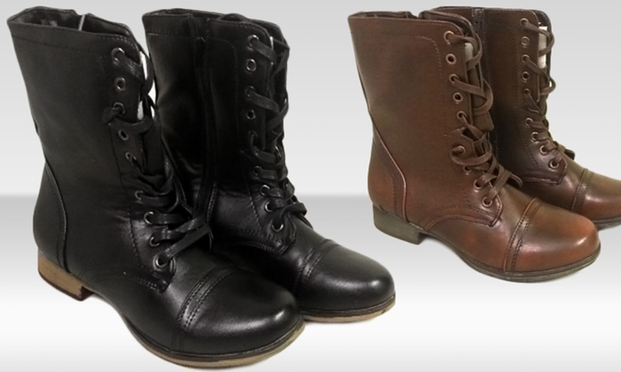 shoes of soul combat boots groupon goods