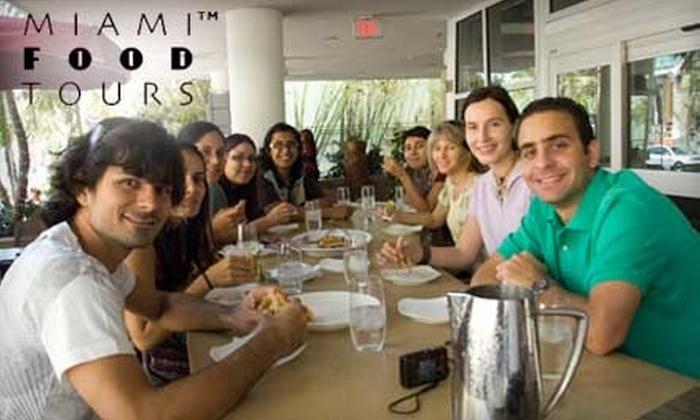 Miami Food Tours: $22 for a South Beach Walking Tour with Miami Food Tours ($45 Value)