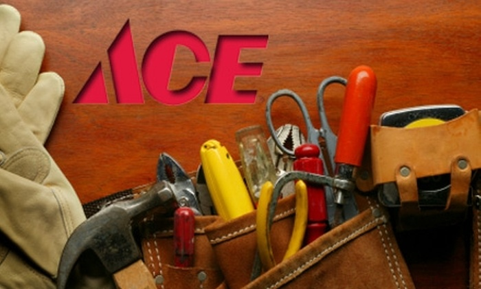 Ace Hardware - Multiple Locations: $10 for $20 Worth of Hardware, Home Goods, and More at Ace Hardware