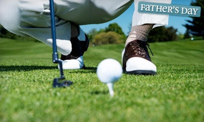 Woodlake Golf Club - San Antonio: Round of Golf, Cart, and Range Balls or 90 Days of Unlimited Greens Fees, Cart, and Range Balls at Woodlake Golf Club