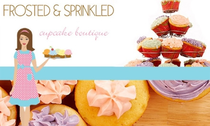 Frosted and Sprinkled - North Druid Hills: $15 for a Dozen Cupcakes and Delivery from Frosted and Sprinkled