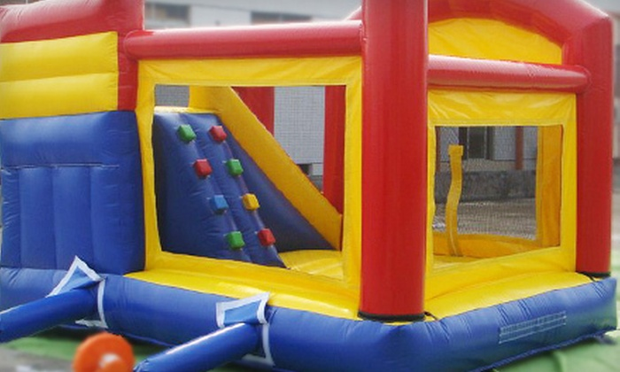 Bounce Around Rental - Utica: Weekday, Weekend, or Holiday Rental of Bounce House and Slide Combo from Bounce Around Rental (Up to 51% Off)