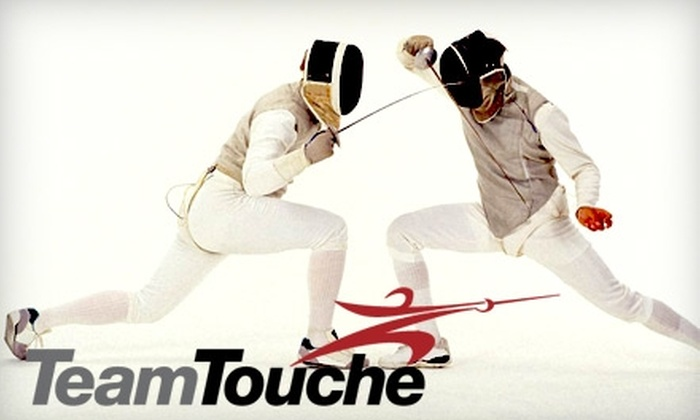 Team Touché Fencing Center - Sorrento Valley: $25 for Four Classes at Team Touché Fencing Center