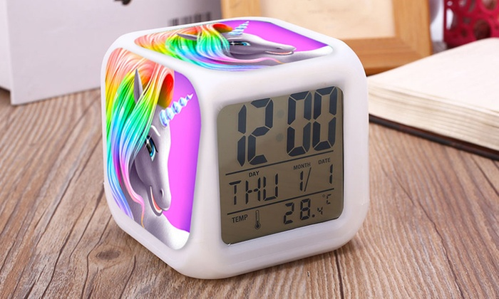 One or Two Haven Unicorn Alarm Clocks