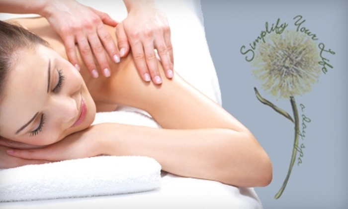 Simplify Your Life - Fallbrook: $49 for a Hot-Oil Exfoliating Massage at Simplify Your Life in Fallbrook