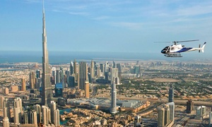 Heli Dubai: Helicopter Tour Across Dubai for One or Five with Heli Dubai