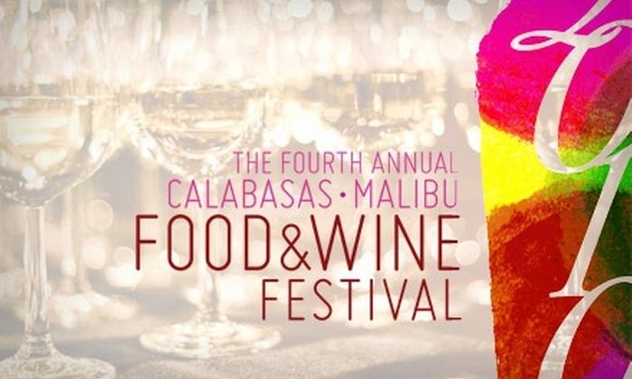 Calabasas Malibu Food & Wine Festival  - Calabasas: $49 Admission to Calabasas Malibu Food & Wine Festival on Saturday, June 19 ($100 Value)
