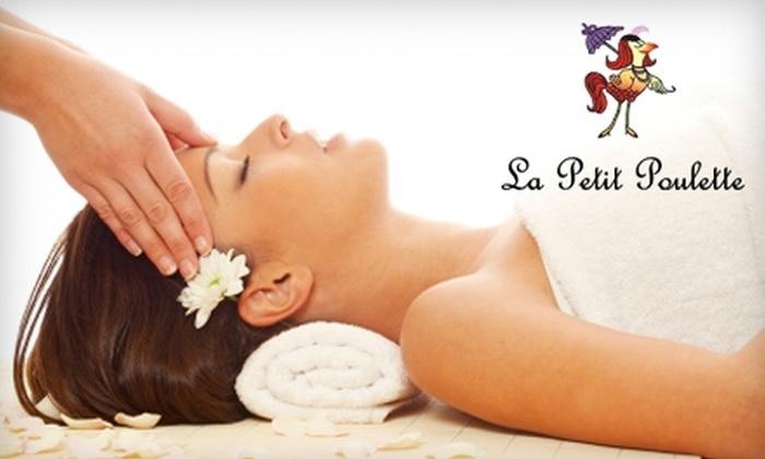 La Petit Poulette - Park Stockdale: $45 for an Anti-Aging Facial or Fusion Massage at La Petit Poulette ($90 Value)