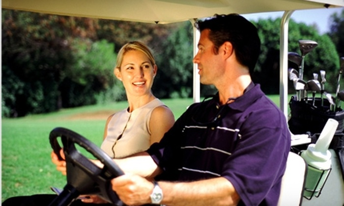 Oak Harbor Golf Club - Salem: $37 for 18 Holes of Golf with Cart for Two and $10 Worth of Food and Beverage at Oak Harbor Golf Club