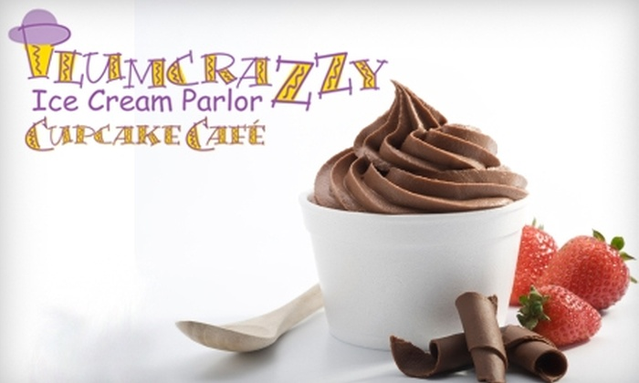 PlumCrazzy Ice Cream Parlor - South Westnedge: $10 for $20 Worth of Sandwiches, Ice Cream & More at PlumCrazzy Ice Cream Parlor