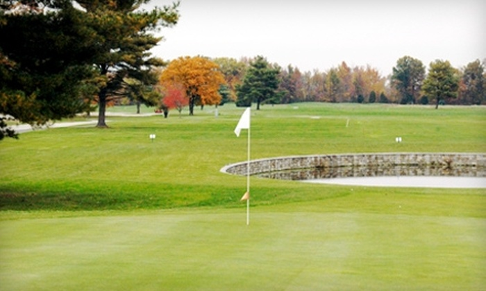 Westwood Golf Course - Scottsburg: $28 for Nine Holes of Golf for Two with Cart and Two Sleeves of Balls at Westwood Golf Course in Scottsburg (Up to $58 Value)