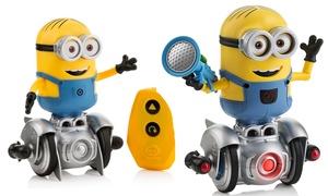 Minion MiP Turbo Dave Mini RC Robot or Interactive Balancing Robot