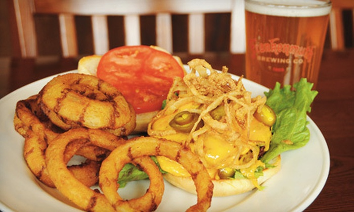 Frankenmuth Brewery - Frankenmuth: Case of Beer and Pub Fare or $15 for $30 Worth of Pub Fare at Frankenmuth Brewery