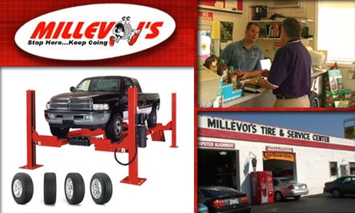 Millevoi's Tire & Service Center - Philadelphia: $60 for One Year of Automotive Service at Millevoi's Tire & Service Center ($447 Value)