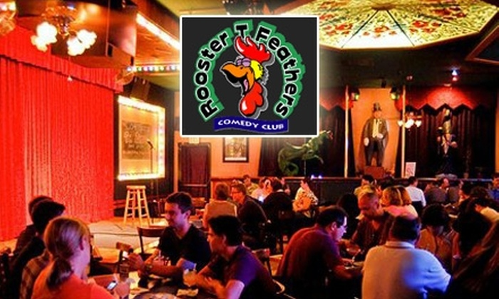 Rooster T. Feathers Comedy Club - Sunnyvale: $10 for Two General-Admission Tickets to a Show at Rooster T. Feathers Comedy Club (Up to $36 Value)
