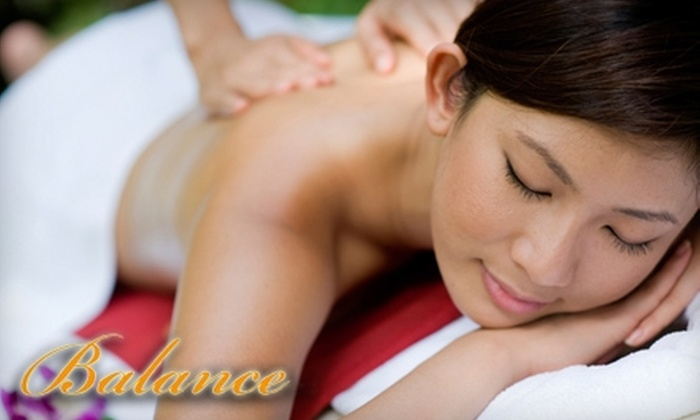 Balance Day Spa - North of Montana: $45 for a 90-Minute Swedish or Deep-Tissue Massage ($88 Value) or a One-Hour European Facial ($95 Value) at Balance Day Spa in Santa Monica