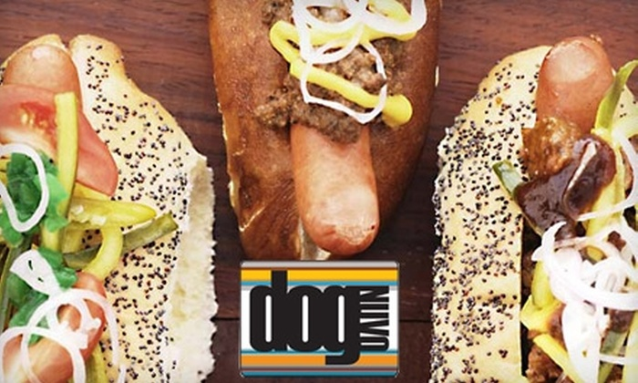 Dog Nuvo - Crossroads: $10 for $20 Worth of Hot Dogs and Drinks at Dog Nuvo