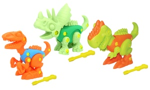 3 kits de construction dinosaure