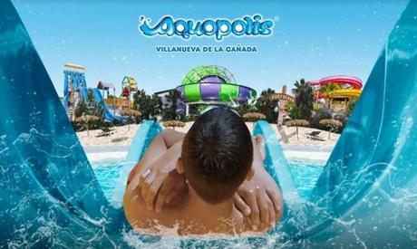 Entrada al Aquópolis de Villanueva de la Cañada para niño o adulto (42% de descuento)