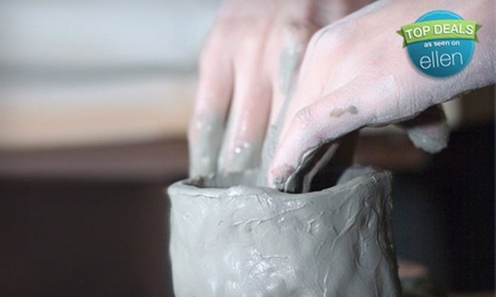 The Clayroom - Brookline: Four Pottery-Sculpting and Mosaic Classes for One or Two at The Clayroom (Up to 60% Off)