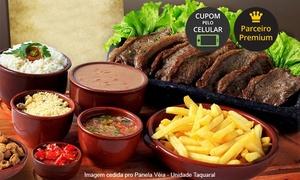 Panela Véia – Unidade Taquaral: Picanha, acompanhamentos e sobremesa para 2 ou 4 pessoas no Panela Véia – Taquaral
