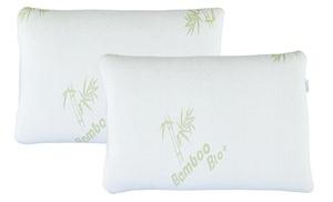 Bamboo-Rayon Memory Foam Pillow (1-, 2-, or 4-Pack)