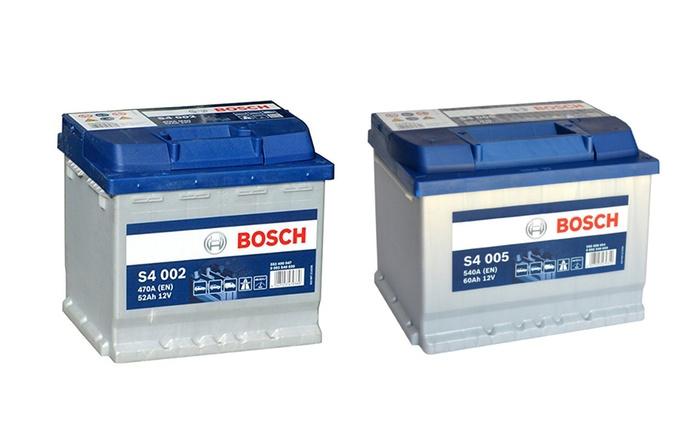 Batteria Bosch 52-60-74 AH per auto disponibile in vari modelli a partire da 49,90 € (fino a 37% di sconto)