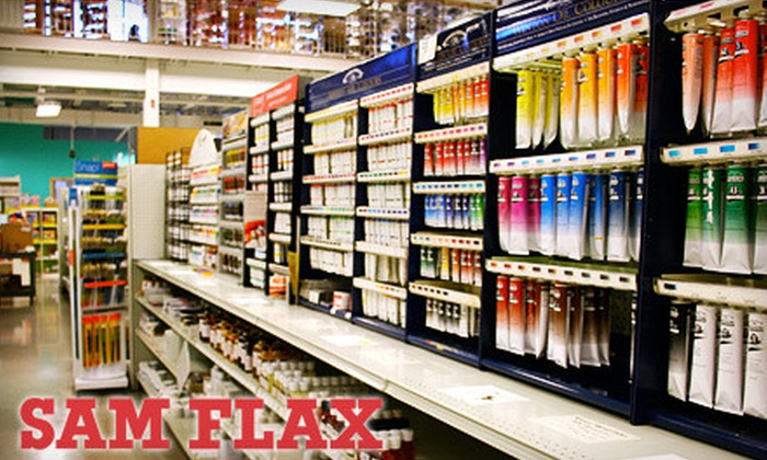 Sam Flax - Atlanta: $20 for $40 Worth of Art Supplies and Home Décor at Sam Flax