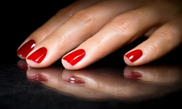 Polished to Perfection - Tuscaloosa: Spa Manicure and Pedicure at Polished to Perfection in Tuscaloosa. Two Options Available.