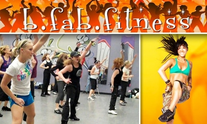 B.Fab.Fitness - Multiple Locations: $39 for One Month of Unlimited Zumba Classes at B.Fab.Fitness ($80 Value)